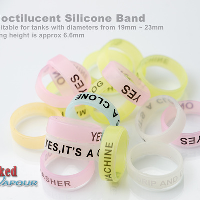 Noctilucent Silicone Band