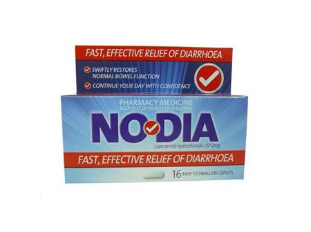 NODIA Loperamide Hcl 2mg 16caps