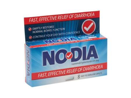 NODIA Loperamide Hcl 2mg 8caps