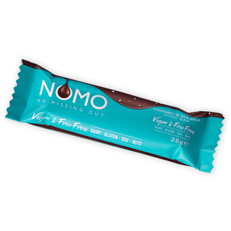 NOMO Creamy Caramel Sea Salt Bar 38g