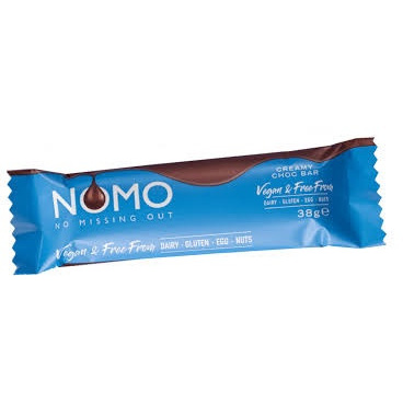 Nomo Creamy Chocolate Bar 38g