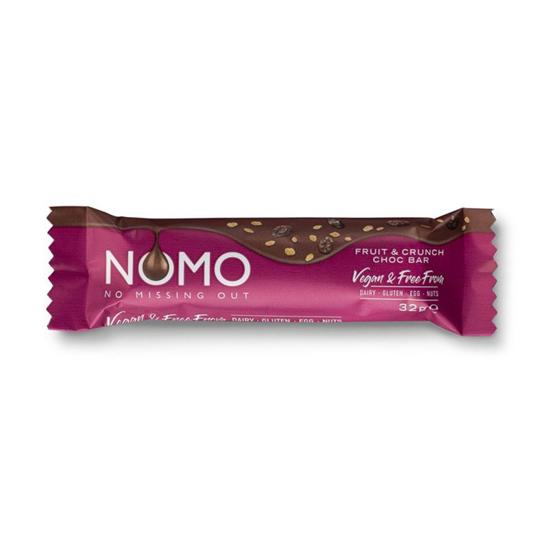 NOMO Creamy Fruit and Crunch Bar 32g