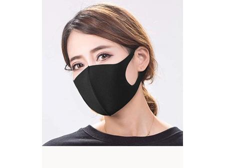 Non-Med Reuse Fashion Blk Mask 1Pc
