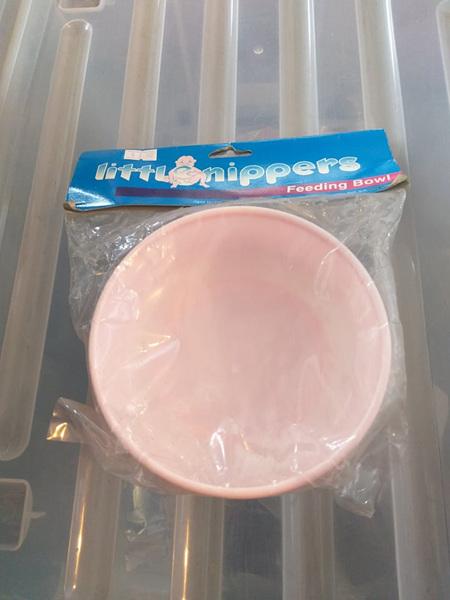 Non Slip Feeding Bowl - Pink