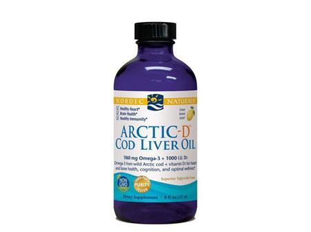 NORDIC ARCTIC-D COD LIVER OIL 237ML