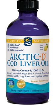 Nordic Naturals ArcticD Cod Liver Oil