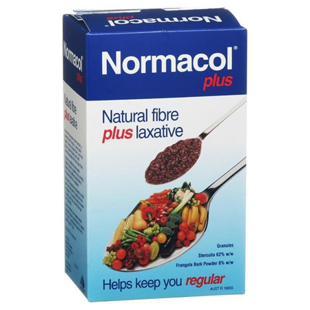 NORMACOL PLUS - NATURAL FIBRE PLUS LAXATIVE 500G