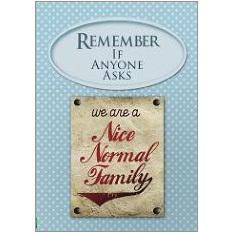 Normal Family Fridge Magnet