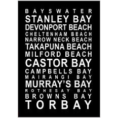 North Shore Fridge Magnet