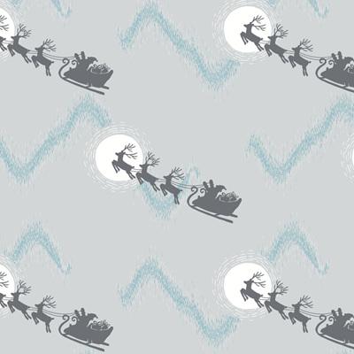Northern Lights - Santa's Sleigh