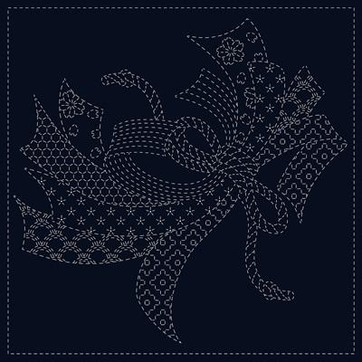 Noshi Sashiko Cloth