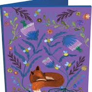 Note Cards - Sleepy Fox