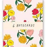 Notecards - Pretty Posies pkt/6