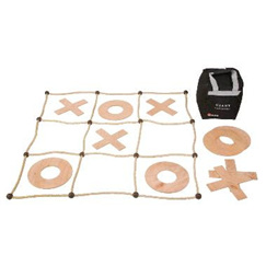Noughts & Crosses - Wood - GAME