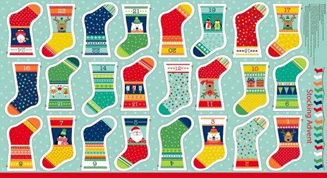 Novelty Mini Stocking Advent Calendar Kit