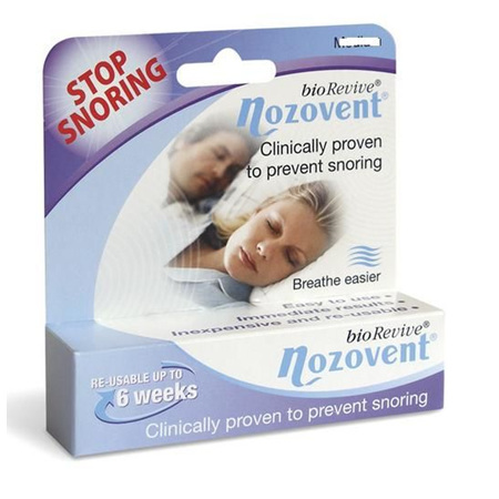 NOZOVENT FOR SNORERS LGE