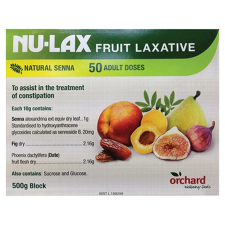 Nu-Lax Fruit Laxative 500g