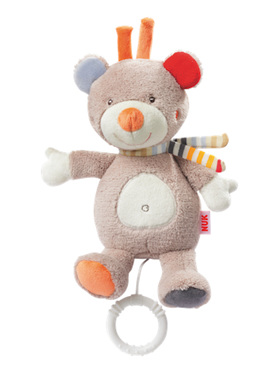 Nuk Forest Fun Musical Teddy - 0 Month+
