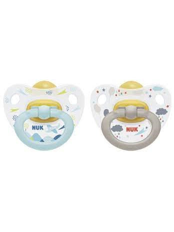NUK Latex Soother size 2 colour 2pk