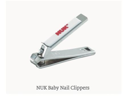 NUK Nail Clippers