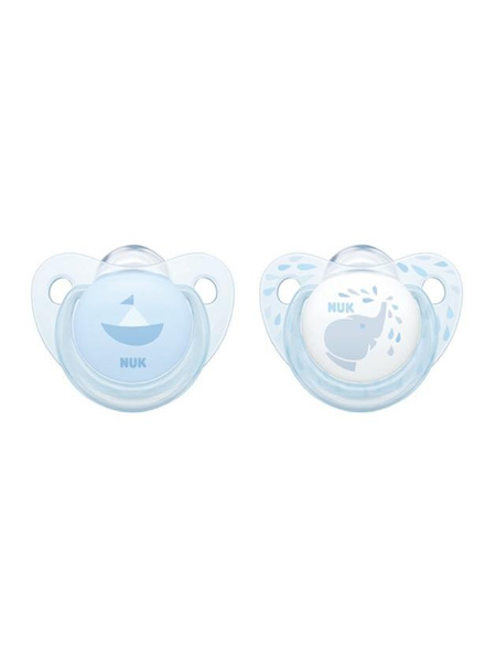 Nuk Silicone Soother 2 Pack 0-6 Months