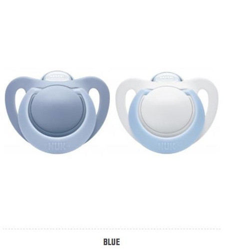 NUK SOOTHERS LATEX UNISEX SIZE 3 503HK