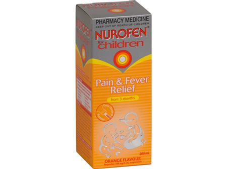 NUROFEN Child Liquid Orange 200ml