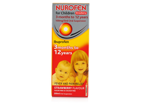 NUROFEN Child Liquid Strawberry 100ml