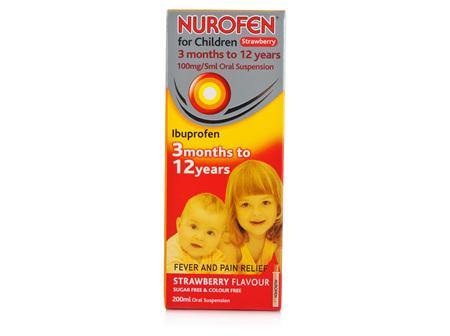 NUROFEN Child Liquid Strawberry 200ml