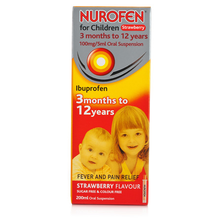 NUROFEN Child Liquid Strawberry 200ml