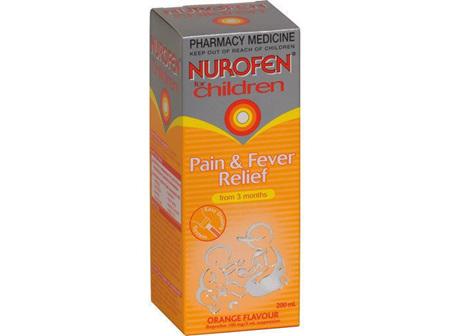 Nurofen Children Orange 100MG/5ML 200ml