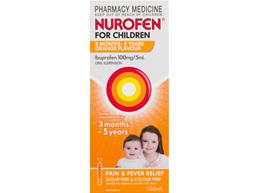 Nurofen Childrens 3Months-5Years Orange 200ml