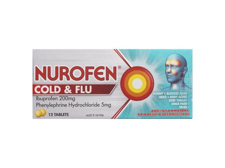 Nurofen Cold & Flu 12 Tablets