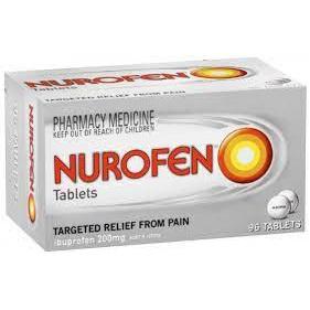 Nurofen Tablets 200mg 96 Pack