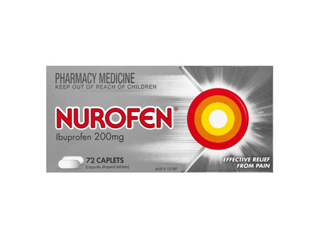 Nurofen Tablets 72 Pack