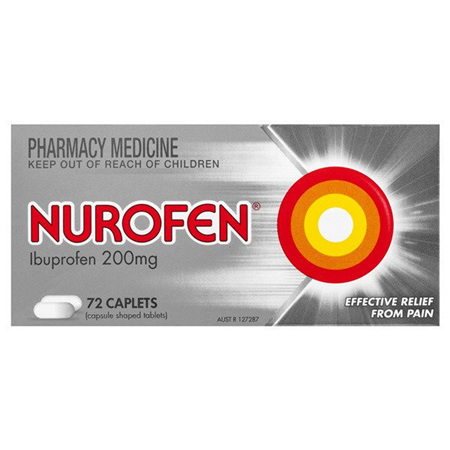 Nurofen Tablets 72 Pack