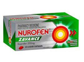 NUROFEN ZAVANCE Liq Caps 60s