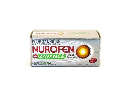 Nurofen Zavance Liquid Capsules