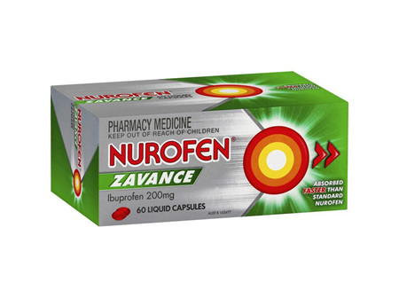 Nurofen Zavance Liquid Capsules 60 Pack