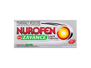 Nurofen Zavance Liquid Capsules ( 80 Capsules)