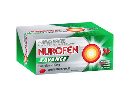 Nurofen Zavance Liquid Capsules 80 Pack