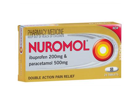 NUROMOL TABS 24