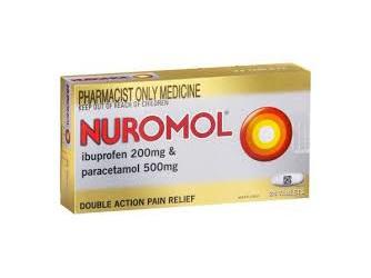 NUROMOL Tabs 72s