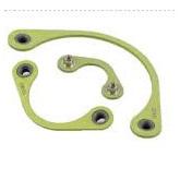 Nut plate for autosport connectors