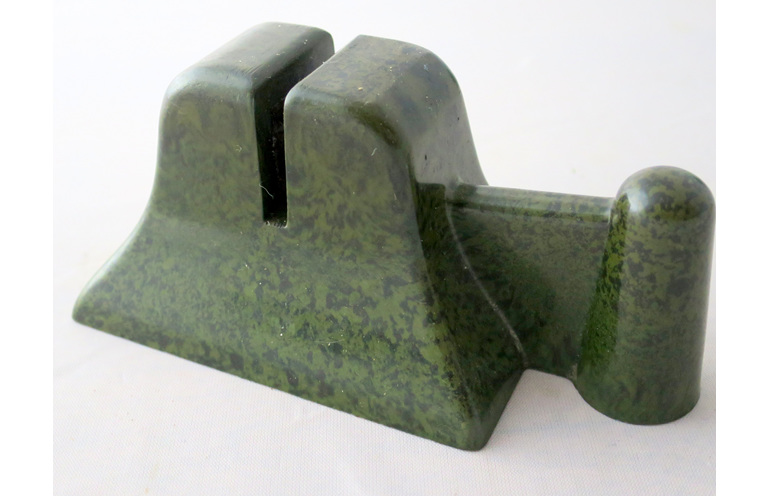 Nutbrown bakelite knife sharpener