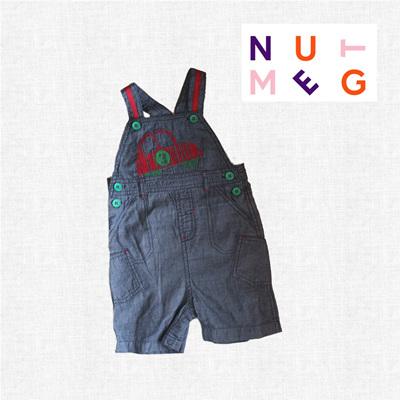 Nutmeg boys overalls