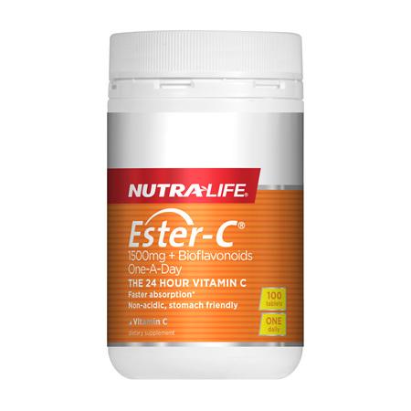 NUTRA-LIFE Ester C 1500mg+Bio 1-a-day 100tb