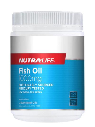 Nutra-Life Fish Oil 1000mg 400caps