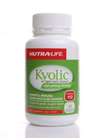 Nutra-Life Kyolic 60 Capsules