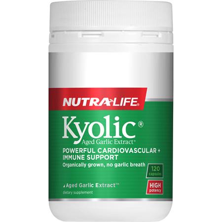 NUTRA-LIFE Kyolic High Potency 120caps